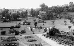 Friarwood Valley Gardens c.1960, Pontefract