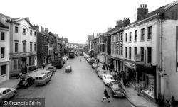 Market Place c.1965, Pontefract