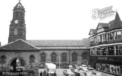 St Giles Church And Buttercross 1964, Pontefract