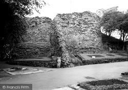 The Castle Keep 1964, Pontefract