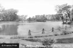 The Park Lake c.1965, Pontefract