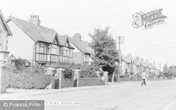 Ponteland, North Road c.1955