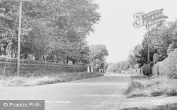 Ponteland, Runnymede Road c.1955
