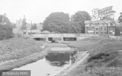 Ponteland, The Bridge And Diamond Inn c.1955