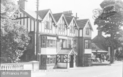 Ponteland, The Diamond Inn And Smithy c.1955