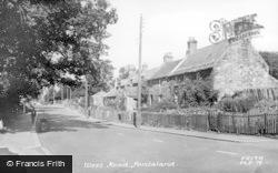 Ponteland, West Road c.1955