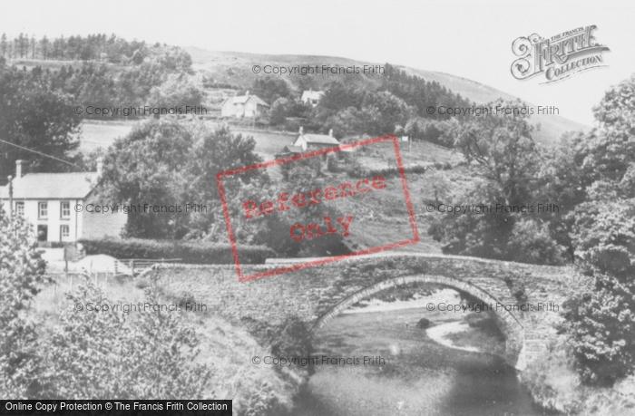 Photo of Ponterwyd, Rheidol River c.1955