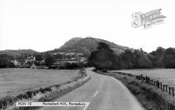 Pontesford Hill c.1960, Pontesbury
