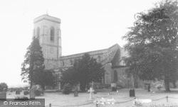 St George's Church c.1960, Pontesbury