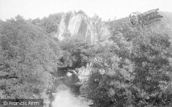 Pontneddfechan, Craig-Y-Dinas 1893