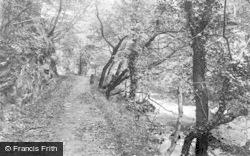 Pontneddfechan, River Walk c.1935