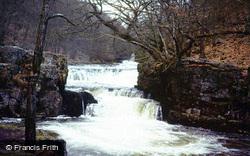 Pontneddfechan, Sgwd Y Bedol Falls 1978