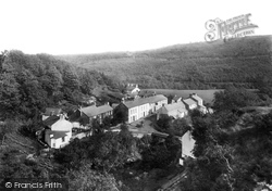 Pontneddfechan, Village 1893