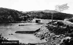 Pontoon, Bridge c.1950
