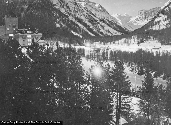 Photo of Pontresina, At Night c.1937