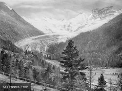 Morteratsch Glacier c.1860, Pontresina