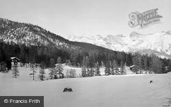 Mountains Scenery c.1937, Pontresina