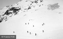 Skiing, Fuorcla Minor c.1937, Pontresina