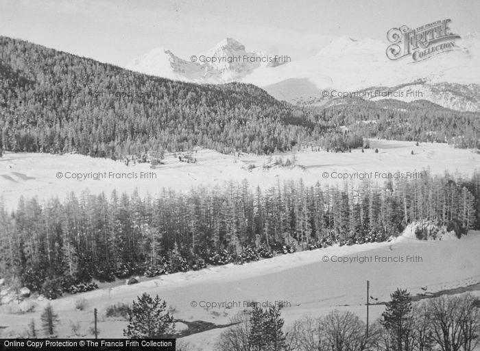 Photo of Pontresina, Snowy Mountains c.1937