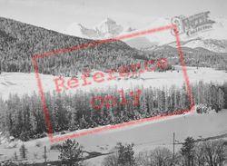 Snowy Mountains c.1937, Pontresina