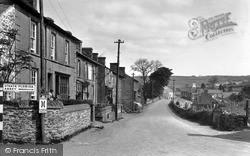 Pontrhydfendigaid, Bridge Street c.1955