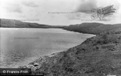 Llyn Hir, The Teifi Pools c.1955, Pontrhydfendigaid