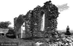 Pontrhydfendigaid, Strata Florida Abbey c.1950