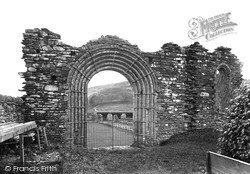 Pontrhydfendigaid, Strata Florida Abbey Gateway c.1950