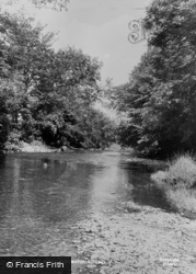 Pontrhydfendigaid, The River c.1955