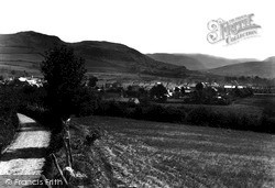 Village And Hills c.1950, Pontrhydfendigaid