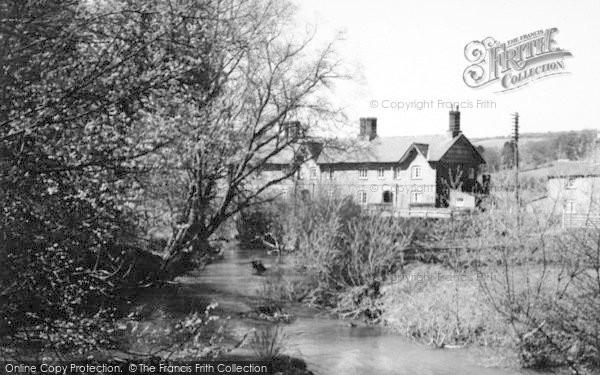 Photo of Pontrilas, The River c.1935