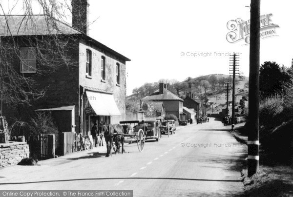 Photo of Pontrilas, The Village c.1935