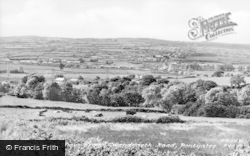 View From Gwendraeth Road c.1955, Pontyates