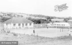 Tennis Courts, Athletic Club c.1960, Pontyberem