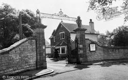 Pontyclun, Entrance To Talygarn Convalescent Home c.1960