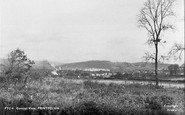 Pontyclun, general view c1955