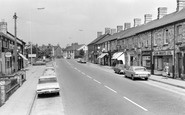 Pontyclun, High Street 1969