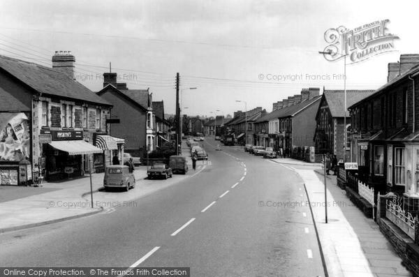 Pontyclun, High Street c1965