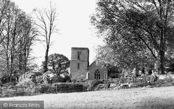 Pontyclun, Talygarn Church c.1955