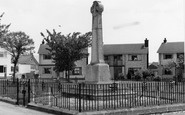 Pontyclun, the Memorial c1969