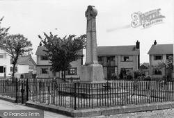 Pontyclun, The Memorial c.1969