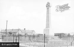 Pontyclun, The War Memorial c.1955
