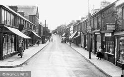 Pontycymer, Oxford Street c.1955