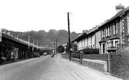 Pontymister, Commercial Street c1955