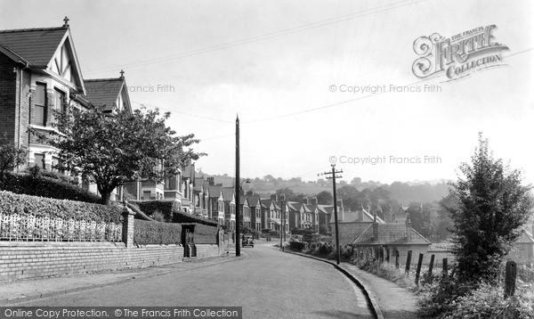 Pontymister, Gelli Crescent c1950