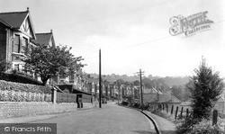 Pontymister, Gelli Crescent c.1950