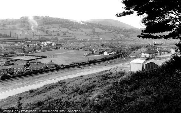 Photo of Pontymister, General View c1955