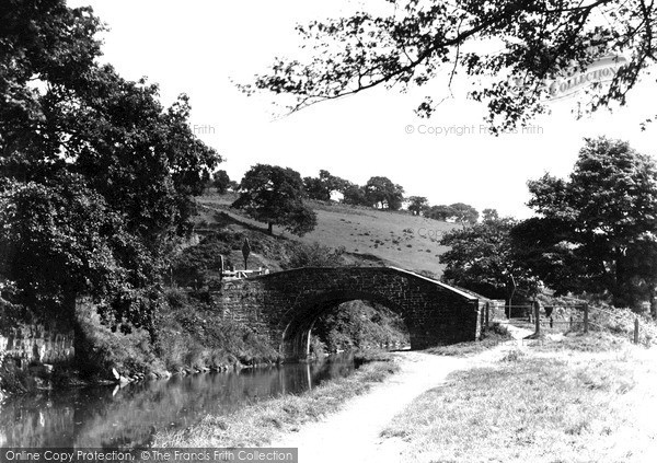 Pontymister, the Canal and the Bridge c1950