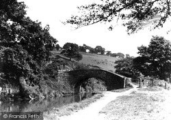 Pontymister, The Canal And The Bridge c.1950