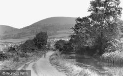 Pontymister, Twm Barlwm From Canal c.1955